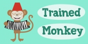 Trained Monkey font download