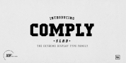 Comply Slab font download