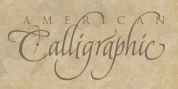 American Calligraphic font download