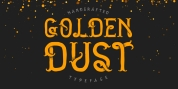 Golden Dust font download