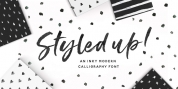 Styled Up font download