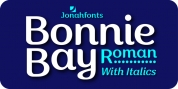 Bonnie Bay Roman font download