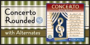 Concerto Rounded SG font download