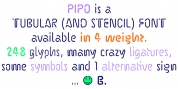 Pipo font download