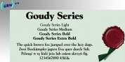 Goudy Series font download