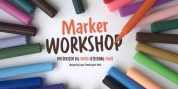 WORKSHOP Marker font download