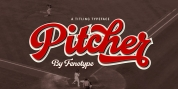Pitcher font download