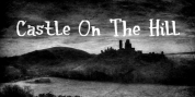 Castle On The Hill font download