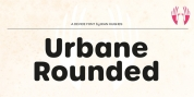 Urbane Rounded font download
