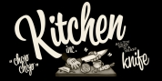 Kitchen font download
