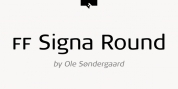 FF Signa Round Pro font download