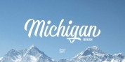 Michigan Brush font download