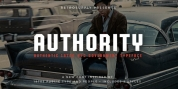 Authority font download