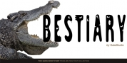 GS Slim One Bestiary font download