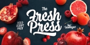 Fresh Press font download