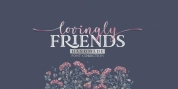 Lovingly Friends font download