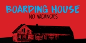 Boarding House font download