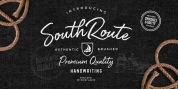 South Route font download