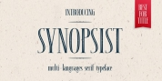 Synopsist font download