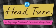 Head Turn font download