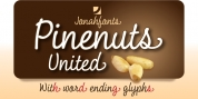 Pine Nuts United font download