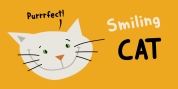 Smiling Cat font download