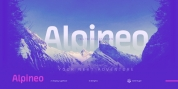 Alpineo font download