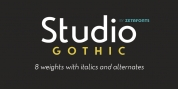 Studio Gothic font download