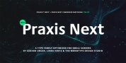 Praxis Next font download