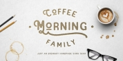 Coffee Morning font download