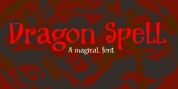 Dragon Spell font download