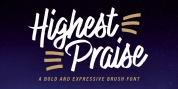 Highest Praise font download