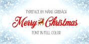Merry Christmas Color font download