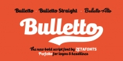 Bulletto font download