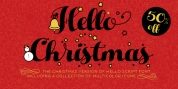 Hello Christmas font download