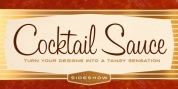 Cocktail Sauce font download