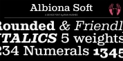 Albiona Soft font download