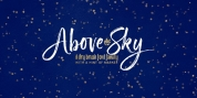 Above the Sky font download