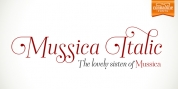 Mussica Italic font download