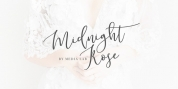 Midnight Rose font download
