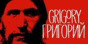Grigory font download