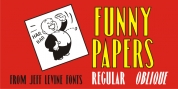 Funny Papers JNL font download