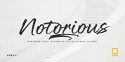 Notorious font download