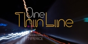 One Thin Line font download