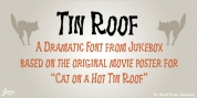 Tin Roof font download