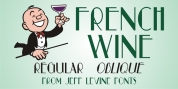 French Wine JNL font download