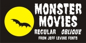 Monster Movies JNL font download