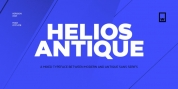 Helios Antique font download