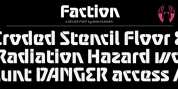 Faction font download