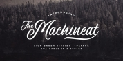Machineat font download